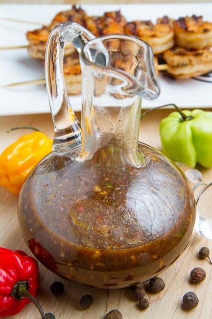 Фото Греческий соус к мясу