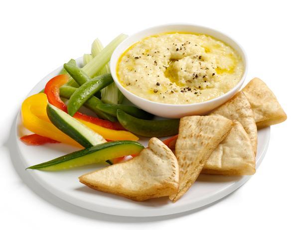 Греческий дип-соус «Скордалия» из печеного картофеля