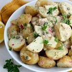 Пататосалата (греческий картофельный салат)