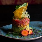 Токийский тартар из тунца