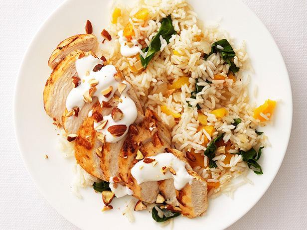 Курица с рисом по-ближневосточному