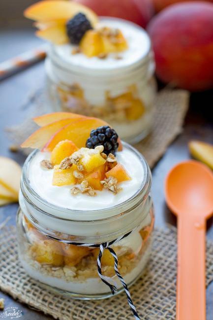 Фото Парфе с греческим йогуртом