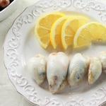 Фаршированные рисом кальмары (Каламаракия йемиста)