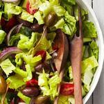 Листовой салат по-гречески