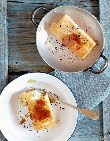Жареный сыр «Саганаки»