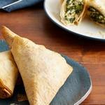 Пирожки «Спанакопита» со шпинатом из теста фило