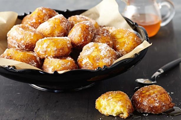 Фото Лукумадес (пончики с медом и корицей)