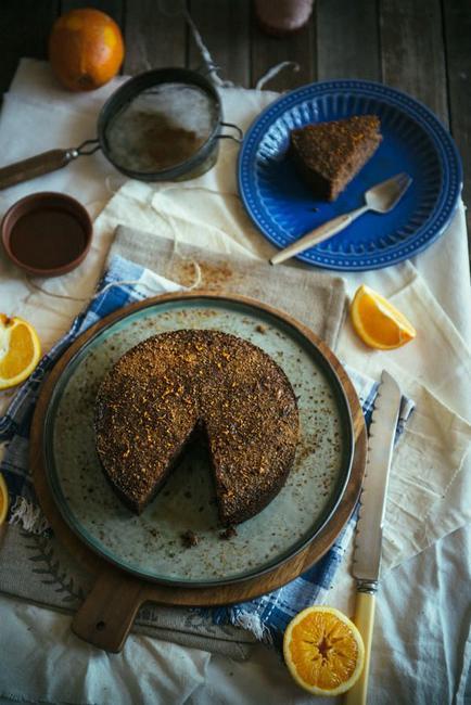 Каридопита (греческий пирог с грецкими орехами)