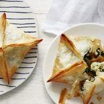 Пирожки «Спанакопита» со шпинатом и картофелем