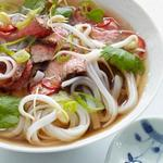Вьетнамский суп Фо Бо (суп-лапша с говядиной)
