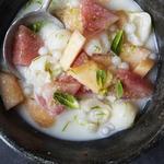 Холодный суп с бананами и кокосовым молоком «Че чуои»
