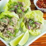 «Лааб» тайское блюдо из фарша индейки (Larb)