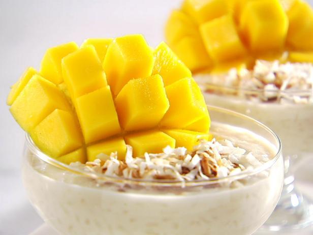 Фото Рисовый пудинг на кокосовом молоке