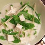 Молочный суп с тофу по-тайски
