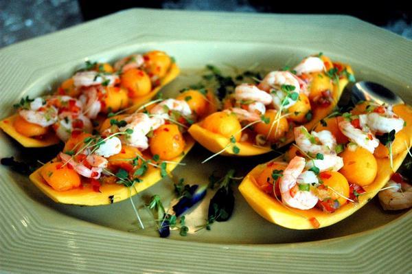 Фото Тайский салат с дыней