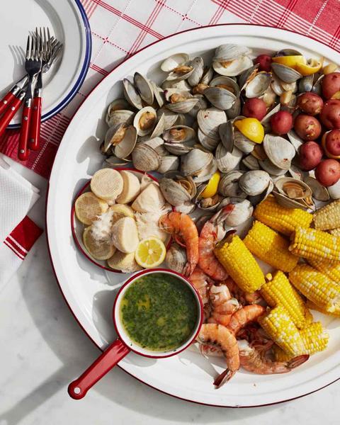 Фото Отварные моллюски по-тайски