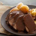 Зауербратен – жаркое из маринованной говядины