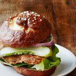 Сэндвич со шницелем