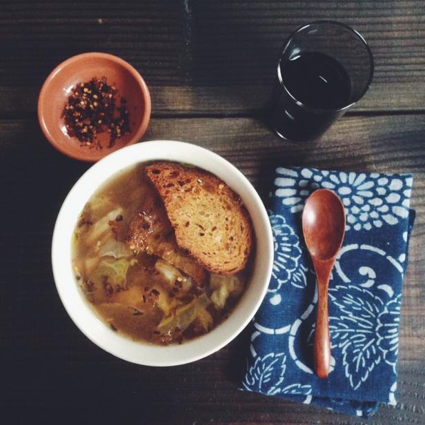 Фото Суп из квашеной капусты