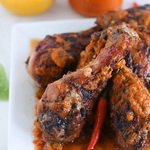 Курица-гриль в маринаде «Пири пири»