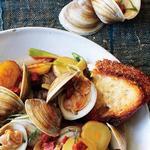 Португальское рагу c рыбой и морепродуктами