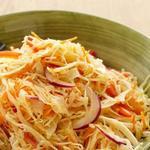 Капустный салат с кумином и заправкой-винегрет