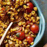 Уличный фаст-фуд: индийский кукурузный салат