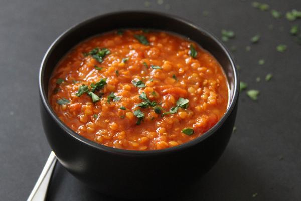 Индийский суп с красной чечевицой «Масурдал»