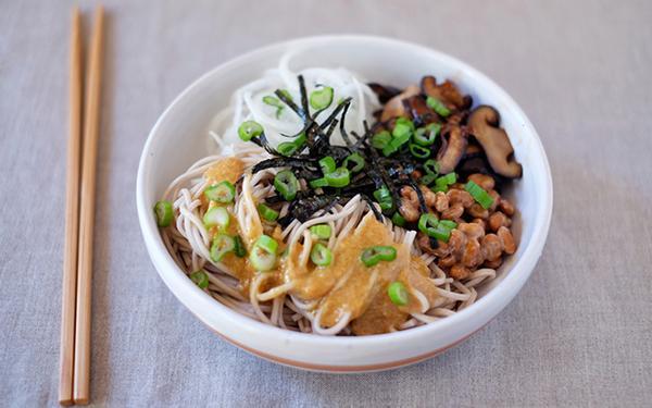 Фото Японский соус к лапше Соба