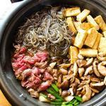 Говядина с овощами «Сукияки»