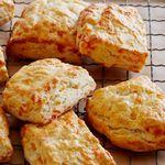 Сырное печенье на пахте