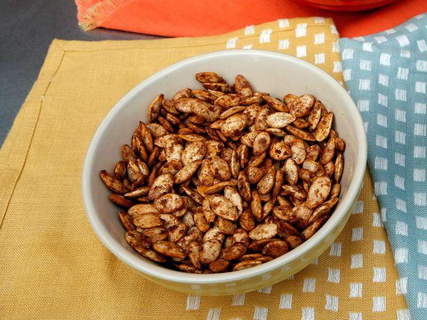 Тыквенные семечки с кленовым сиропом