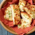 Сырно-чесночные палочки (тосты)