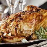 Курица запеченная с медом и тимьянов по-провански