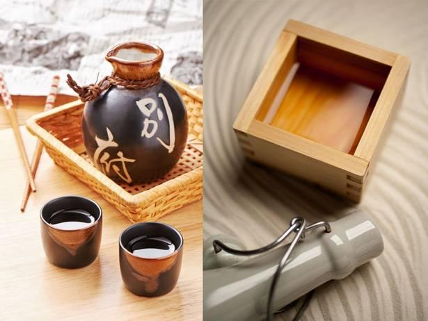 В чем подают саке