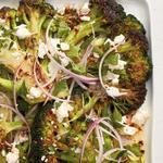 Вегетарианские стейки из капусты брокколи