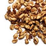 Жареный арахис с беконом и приправой для тыквенного пирога