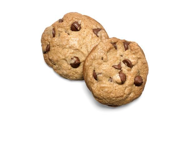 Фото Хрустящее печенье с тыквенной приправой и шоколадом