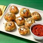 Пицца-бомбы с беконом и сыром