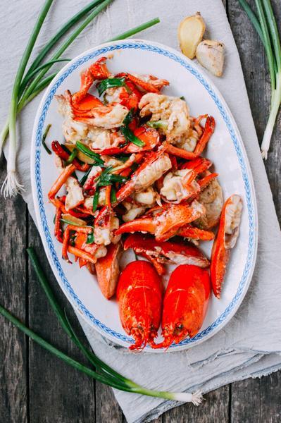 Как приготовить в духовке омаров без панциря