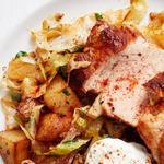 Свинина с картофелем по-венгерски
