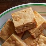 Пирожные «Ирисово-бурбоновые блонди»