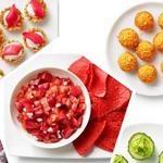 50 ярких цветных закусок: полезный перекус