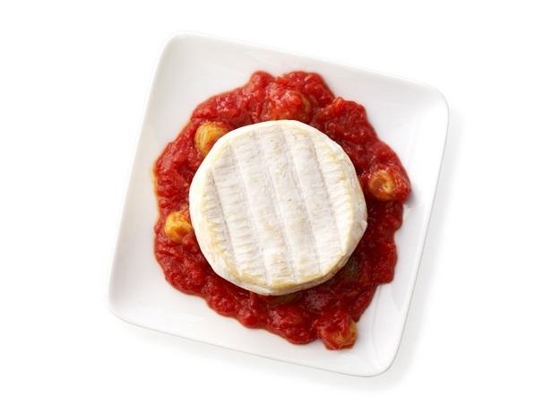 43. Козий сыр с томатным чатни