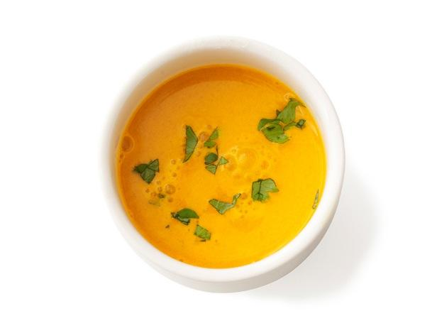 48. Морковный крем-суп с имбирем