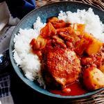 Массаман-карри с курицей и картофелем
