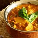 Традиционный овощной карри