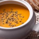 Тыквенный суп-пюре с приправой карри