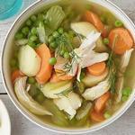 Куриный суп с карри в мультиварке