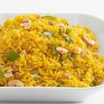 Рис с приправой карри по-индийски